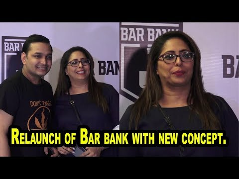 Geeta Kapoor At Relaunch of Bar bank with new concept