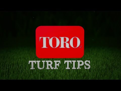 Video: 2017 Toro Turf Tips: Water Conservation