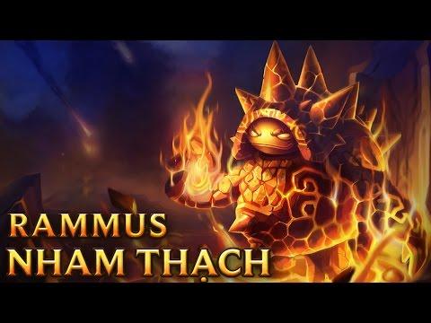 Rammus Nham Thạch - Molten Rammus