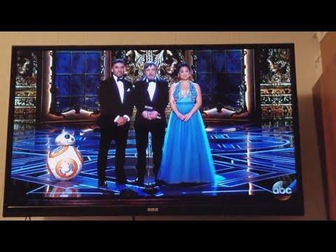 The Last Jedi Stars, Mark Hamill, Oscar Isaac and Kelly Marie Tran present at the Oscars Rough Cut