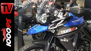 6. Triumph Tiger 800 XC / 800 XR- 2015 | Features, Details