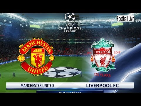 PES 2018 | Manchester United Vs Liverpool FC | UEFA Champions League (UCL) | Gameplay PC