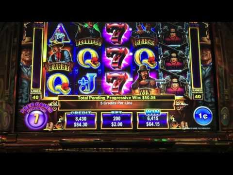 Ainsworth-Magnificent 7 Slot Machine Shoot Out Bonus