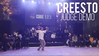 Creesto – BATTLE GS Code 1.2.3 Judge Demo
