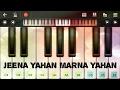 Jeena yahan marna yahan piano(mera naam joker)