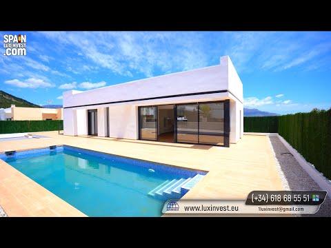345000€/Недорогие дома в Испании/Виллы в стиле ХайТек/Новый дом в Испании/Недвижимость в Бенидорме
