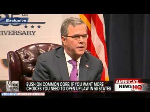 Jeb Bush embraces Common Core