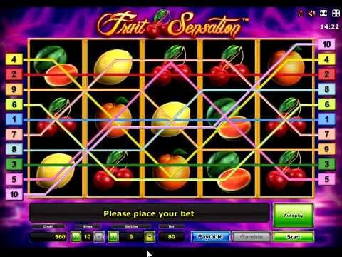 геймплей игрового автомата Фруктовая сенсация. Слот Fruit Sensation