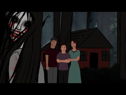 Haunted Cottage Animated Horror Story - Horror Stories Hindi Urdu