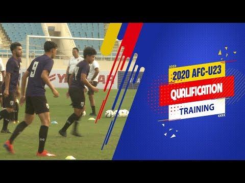U23 Thái Lan làm quen sân Mỹ Đình, sẵn sàng đại chiến với Indonesia | VFF Channel - Thời lượng: 98 giây.