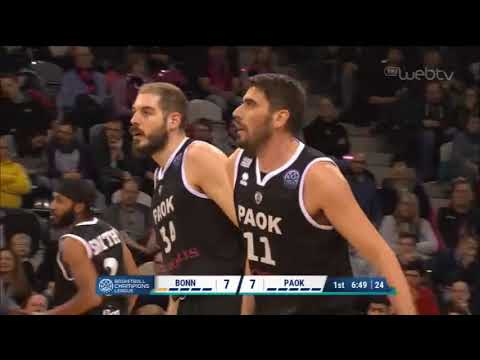 BASKETBALL CHAMPIONS LEAGUE: ΒΟΝΝΗ – ΠΑΟΚ | 04/12/2019 | ΕΡΤ