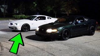 He Wanted to Race My Turbo Mustang SO WE RACED