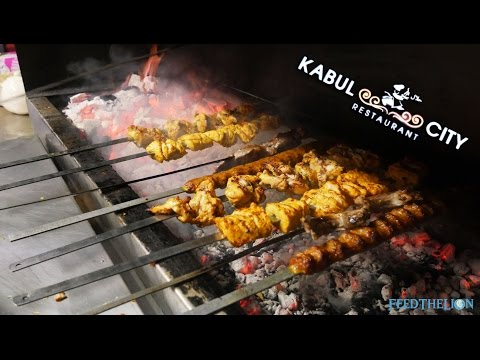 Kabul City - Afghan Cuisine in Edgware (видео)