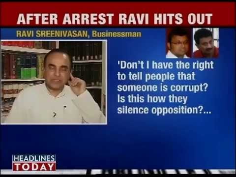 Dr Subramanian Swamy in Headline Today debate about Karti Chidambaram Twitter controversy
