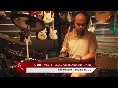 Volko Alaturka Drum with V-Drums