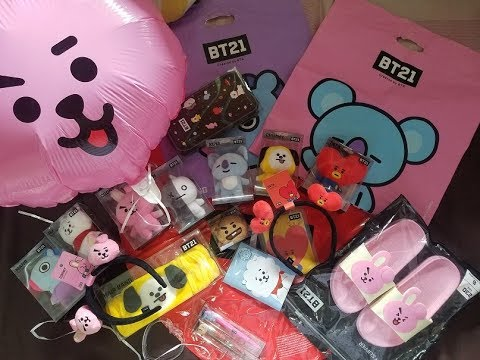 BT21 Mini Haul and Unboxing Part 1 + Pricelist in KRW