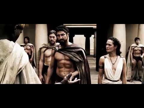 300 Spartans movie mass scenes tamil