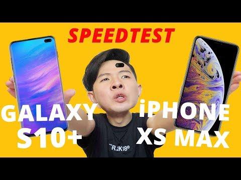 SO SÁNH HIÊU NĂNG GALAXY S10+ VS iPHONE XS MAX: EXYNOS 9820 VS A12 BIONIC??? - Thời lượng: 9 phút, 29 giây.