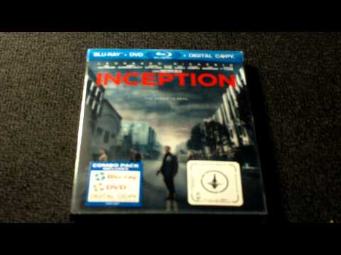 Inception Blu-Ray Review And Unboxing