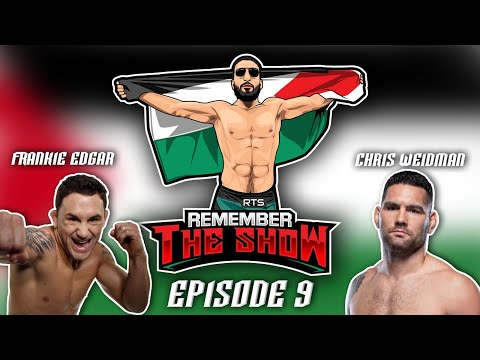 """RTS.9: """"The Show with Frankie Edgar and Chris Weidman"""""""