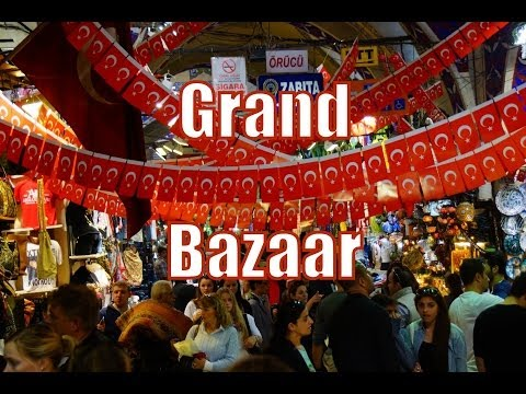 VIDEO: Shopping at the Grand Bazaar