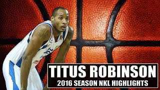Titus Robinson NKL Highlights 2015-16