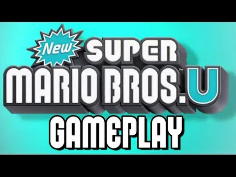 New Super Mario Bros. U – Gameplay Walkthrough E3 2012 Demo