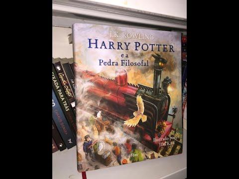 Livro - Harry Potter e a pedra filosofal - edição ilustrada