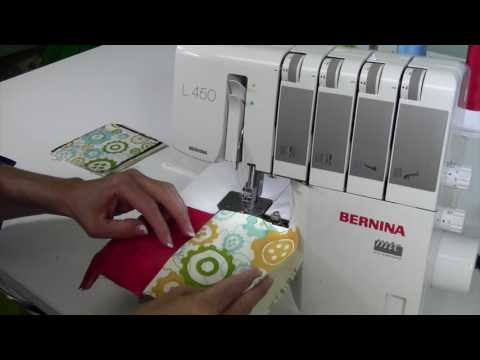 Bernina L450 36 Quilt As You Go on a Serger