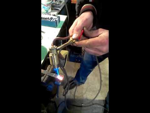 Бензогорелка для пайки видео