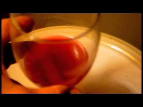 wine after two weeks of fermentation