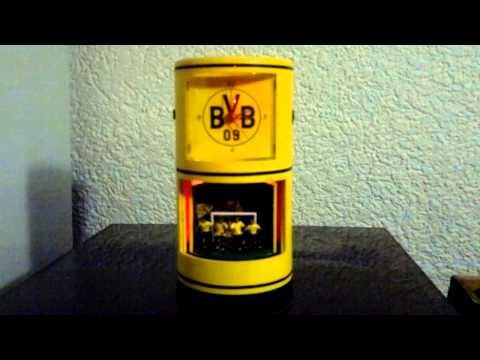 BVB Wecker Fan Uhr Fußball