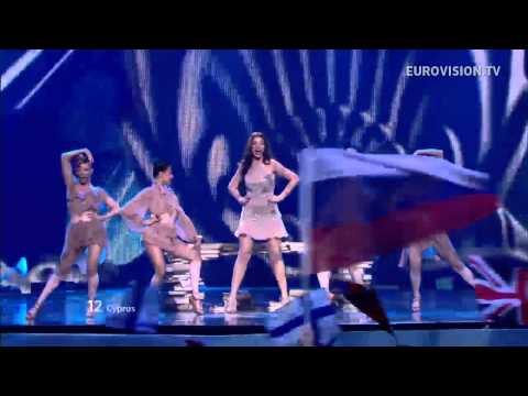 Ivi Adamou – La La Love – Live – 2012 Eurovision Song Contest Semi Final 1