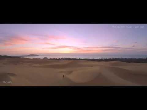 Bình Thuận đẹp ngỡ ngàng dưới góc máy flycam