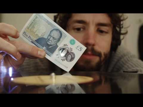 The UK s New  5 Plastic Bank Note Can Play Vinyl