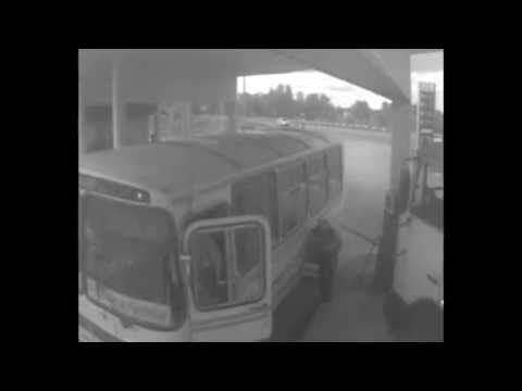 Lucky Man Nearly Crushed by Truck