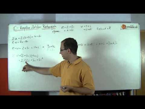 Rechnen mit komplexen Zahlen