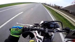 10. Yamaha wr 125 x top speed | original exhaust