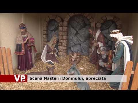 Scena Nașterii Domnului, apreciată