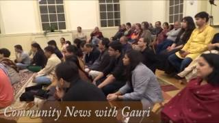 April Community News with Gauri (part 1) Anand Bhate's concert