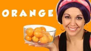 Learn Colors with Tayla, Color Orange