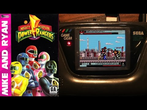 Mighty Morphin Power Rangers (Game Gear) Mike & Ryan