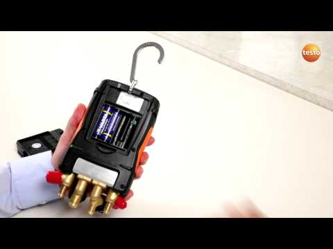 testo 557 - Step 1 - How to Start the Device