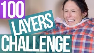 100 Layers of Clothes SUCCESS  (Beauty Break) by Clevver Style