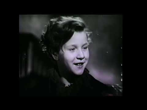 Dickens Scrooge A Christmas Carol 1951 Alistair Sim short digest version from 16mm