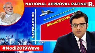 Video CVoter Survey Shows A Surge In PM Modi's Popularity | The Debate With Arnab Goswami MP3, 3GP, MP4, WEBM, AVI, FLV Maret 2019