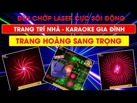 Máy chiếu Laser Apple dành cho phòng Karaoke gia đình