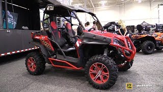 9. 2018 Cfmoto Z-Force 1000 Side by Side ATV - Walkaround - 2017 Toronto Snowmobile ATV Show