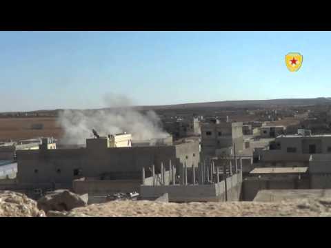 YPG Kobane'de çetelere ağır darbe vurdu-VİDEO 3