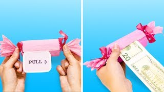 Video 30 COOL AND SIMPLE GIFT PACKAGING IDEAS MP3, 3GP, MP4, WEBM, AVI, FLV Juli 2018